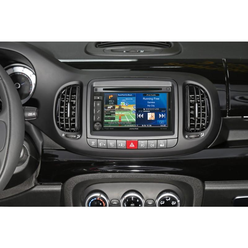 Переходная рамка Intro RFI-N07 для Fiat 500L 2DIN (фото 2)