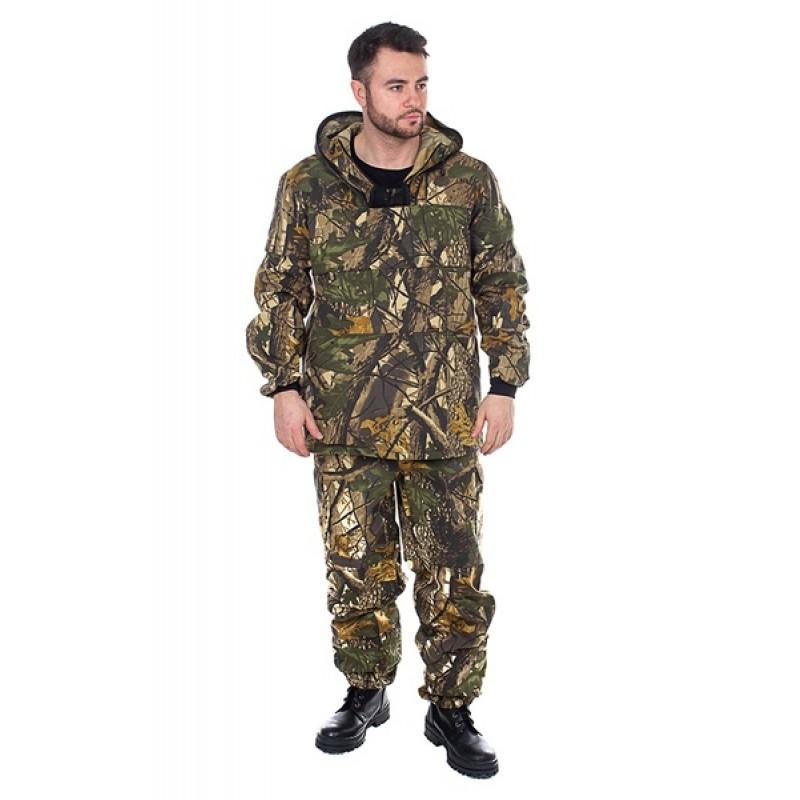 Костюм летний Антигнус-Люкс (Смесовая, Светлый лес) Huntsman (фото 2)