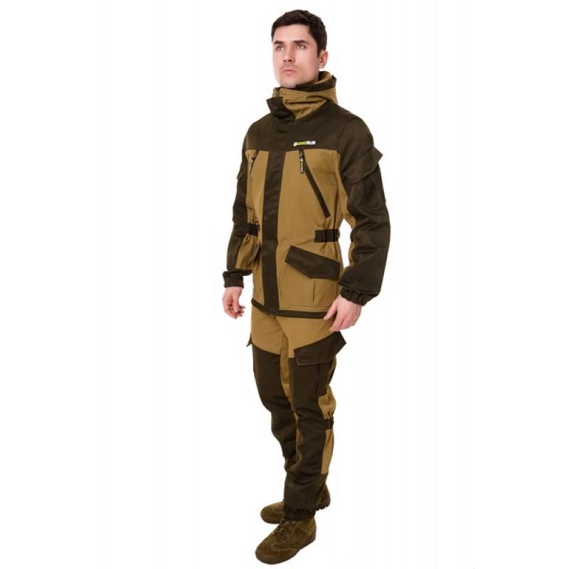 Летний костюм ONERUS Горный на молнии (Палатка, светлый Хаки) (фото 2)
