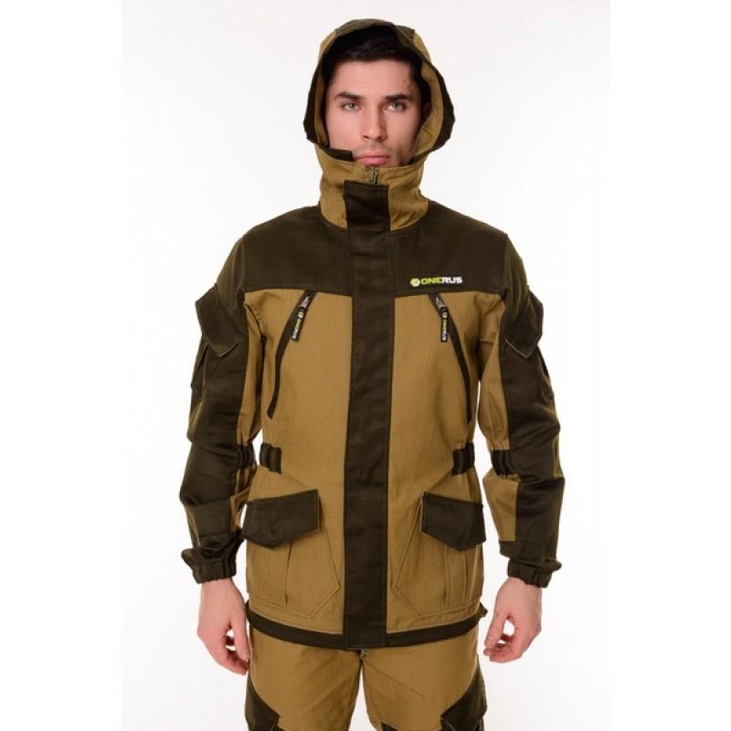 Летний костюм ONERUS Горный на молнии (Палатка, светлый Хаки) (фото 3)