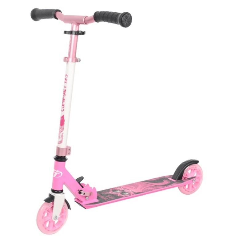 Самокат TechTeam Comfort 125R розовый