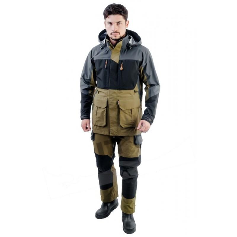 Летний костюм для охоты и рыбалки TRITON Азимут (Таслан, зеленый)