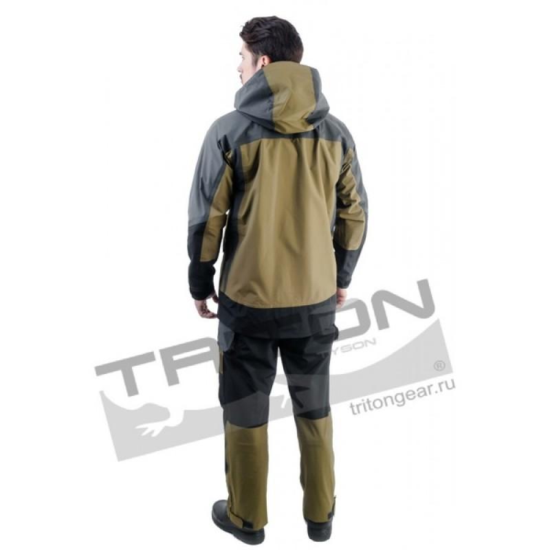 Летний костюм для охоты и рыбалки TRITON Азимут (Таслан, зеленый) (фото 2)