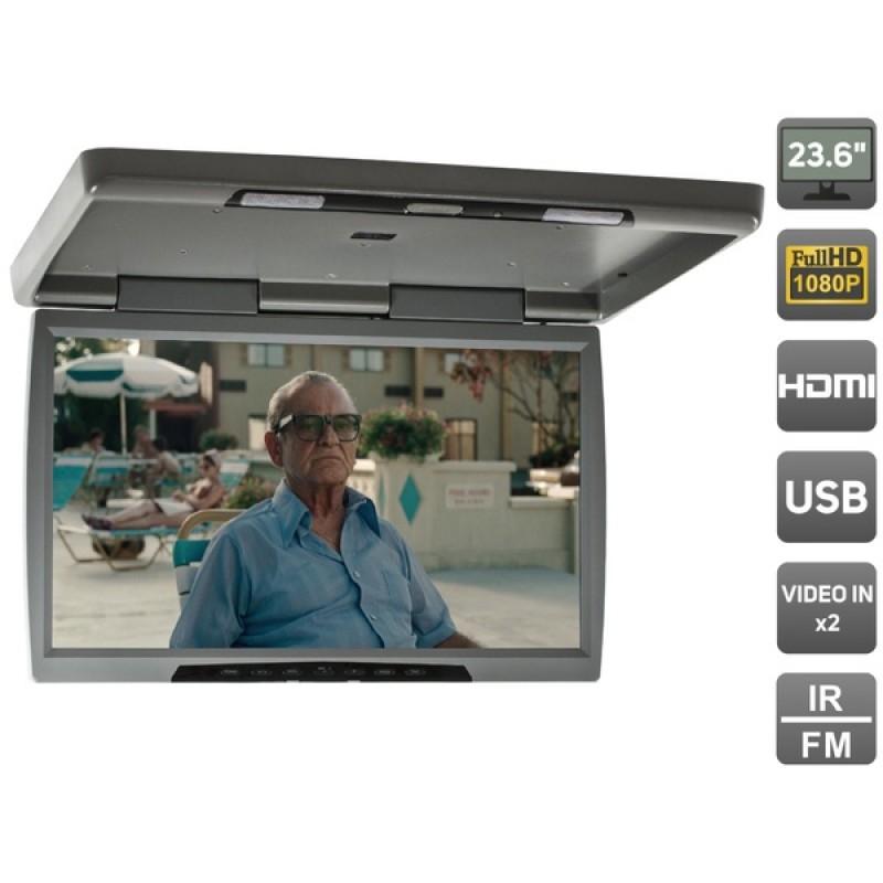 Потолочный монитор для автомобиля Потолочный монитор 23,6 AVEL AVS2230MPP (серый) (фото 2)