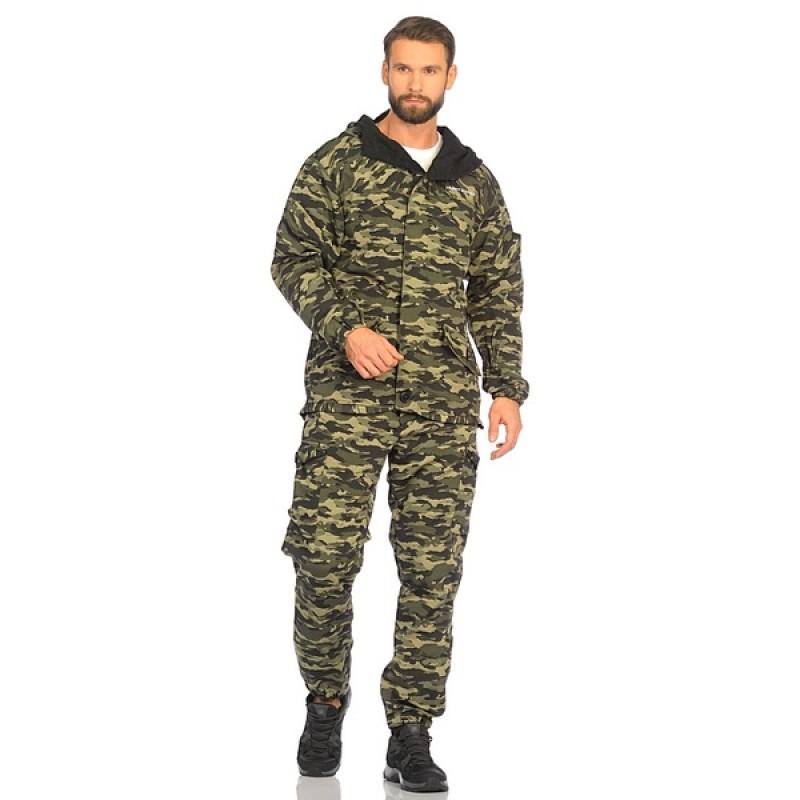 Демисезонный костюм Huntsman Горка-3 цвет КМФ (264) ткань Смесовая Рип-Стоп