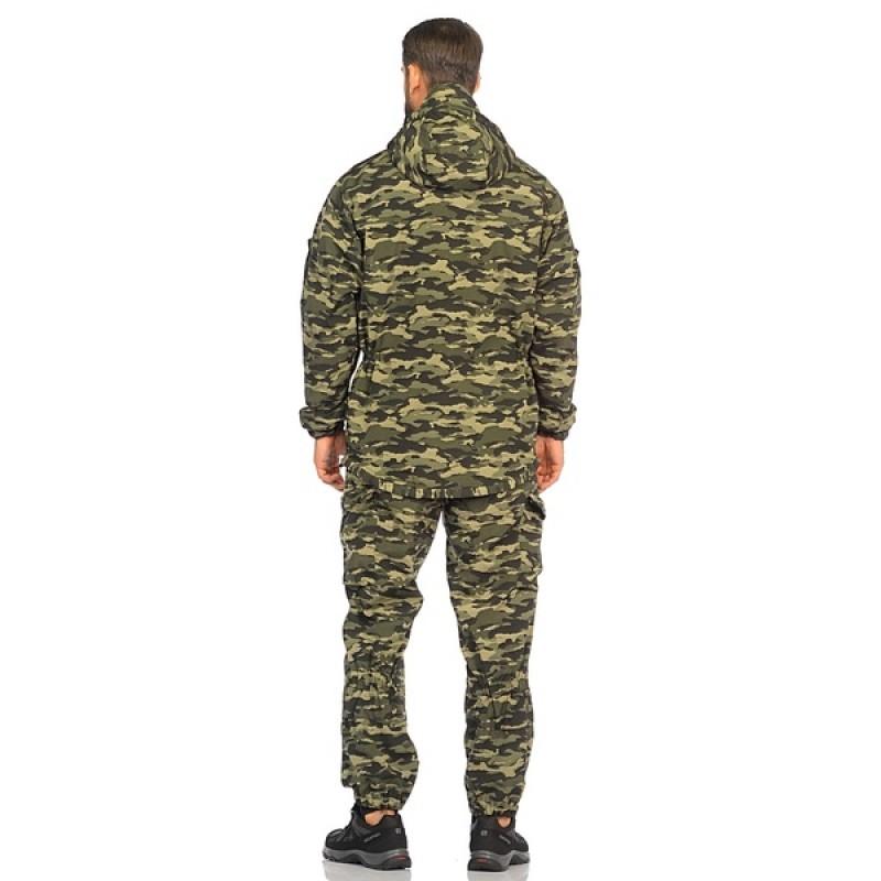 Демисезонный костюм Huntsman Горка-3 цвет КМФ (264) ткань Смесовая Рип-Стоп (фото 3)
