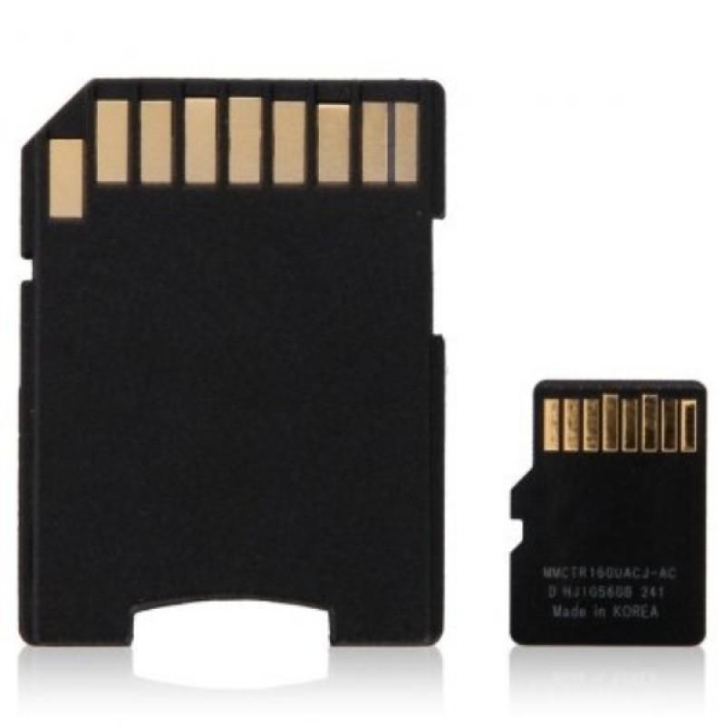 Карта памяти microSD (10 Класс) 16Gb, с переходником SD (фото 2)