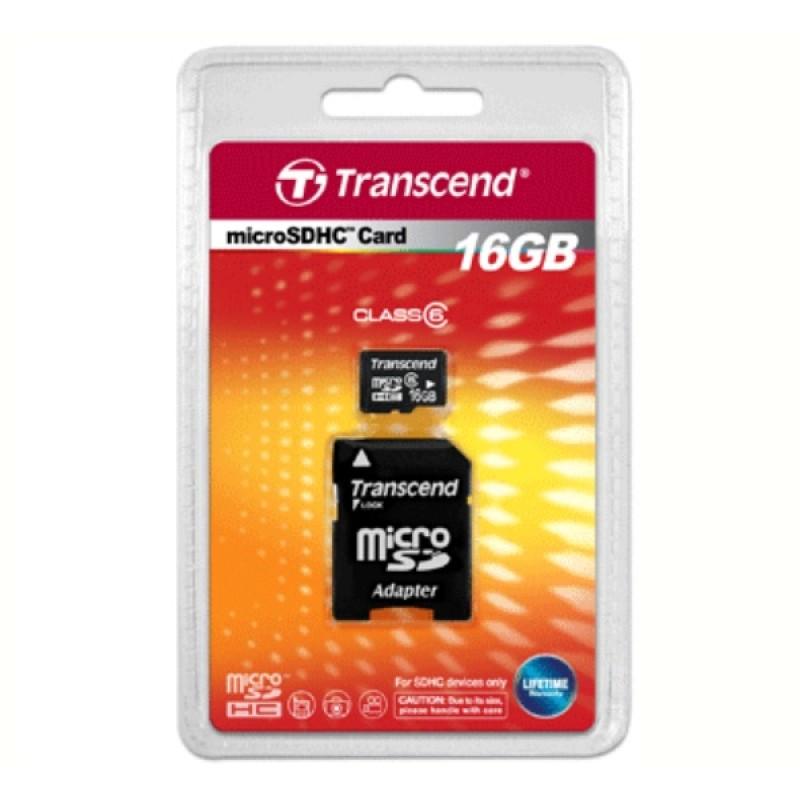 Карта памяти microSD (10 Класс) 16Gb, с переходником SD (фото 3)