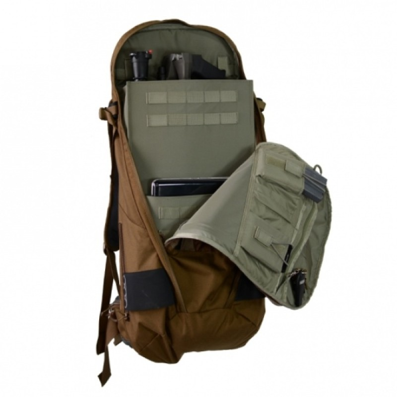 Тактический рюкзак Eberlestock SECRET WEAPON MILITARY GREEN/GREY (фото 3)