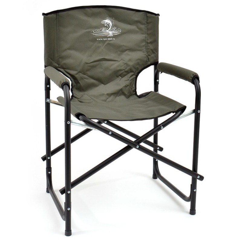 Кресло складное КЕДР SK-03 (сталь, хаки)
