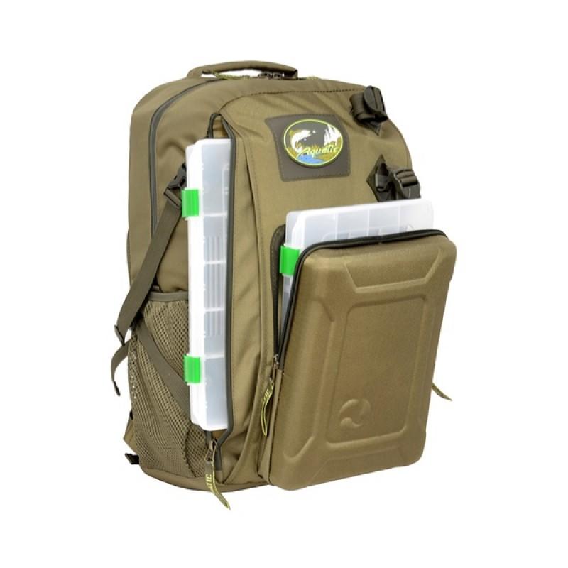 Рюкзак с коробками FisherBox Aquatic РК-02Х (рыболовный, хаки)