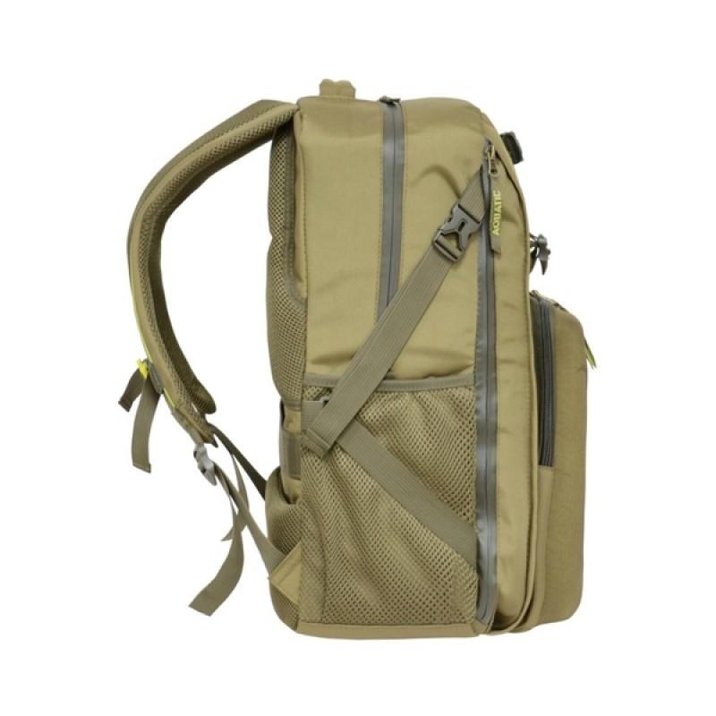 Рюкзак с коробками FisherBox Aquatic РК-02Х (рыболовный, хаки) (фото 3)