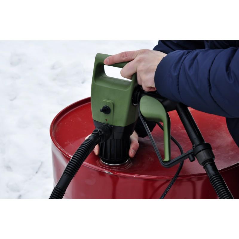 Универсальная электрическая помпа для топлива Smart Power SP-3000EP для бочек (12В) (+ Антисептик-спрей для рук в подарок!) (фото 7)
