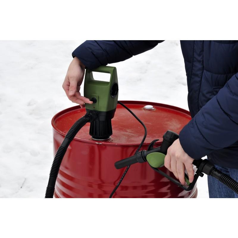 Универсальная электрическая помпа для топлива Smart Power SP-3000EP для бочек (12В) (+ Антисептик-спрей для рук в подарок!) (фото 8)