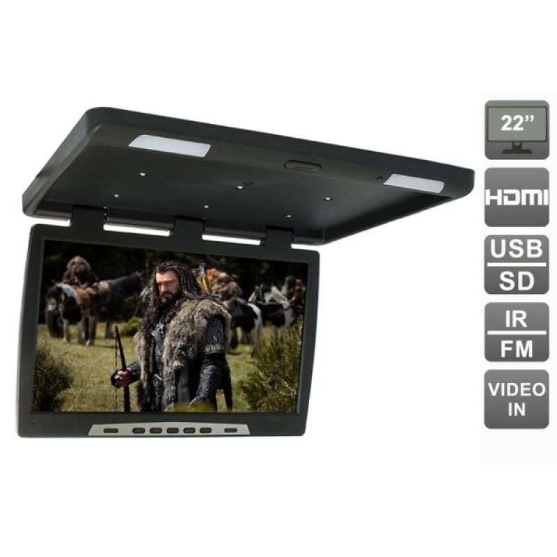Потолочный монитор для автомобиля Потолочный монитор 22 AVEL AVS2220MPP (черный) (фото 2)