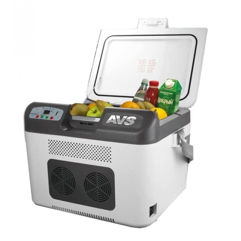 Автомобильный холодильник AVS CC-27WBC (27л 12В/24В/220В)