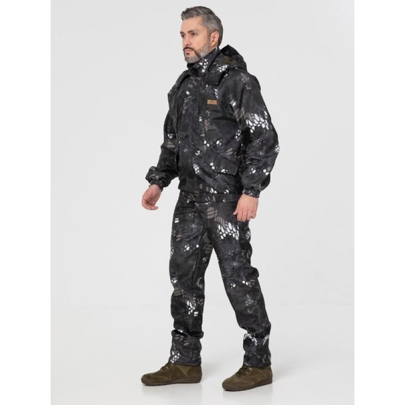 Осенний костюм для охоты и рыбалки KATRAN Тор (полофлис, серый) (фото 2)