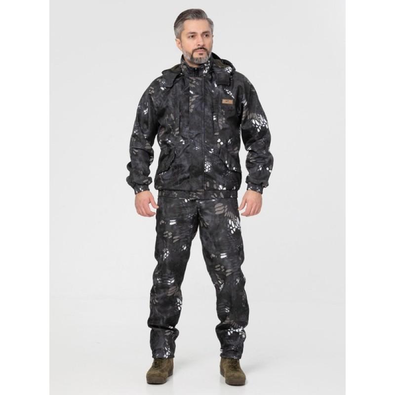 Осенний костюм для охоты и рыбалки KATRAN Тор (полофлис, серый) (фото 3)