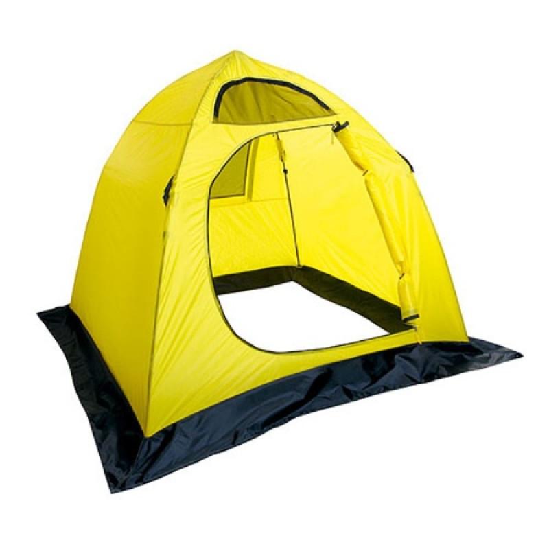 Палатка рыболовная зимняя Holiday EASY ICE 180х180 желтая (H-10451)