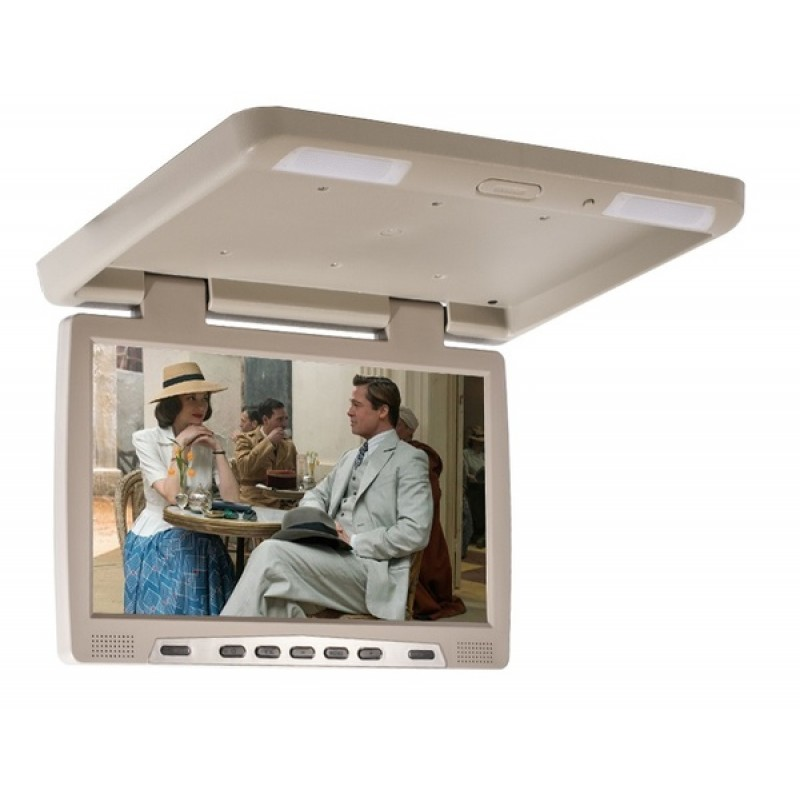 Потолочный монитор для автомобиля AVIS Electronics AVS115 Бежевый