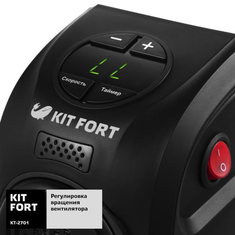 Электрообогреватель Kitfort KT-2701 (фото 3)