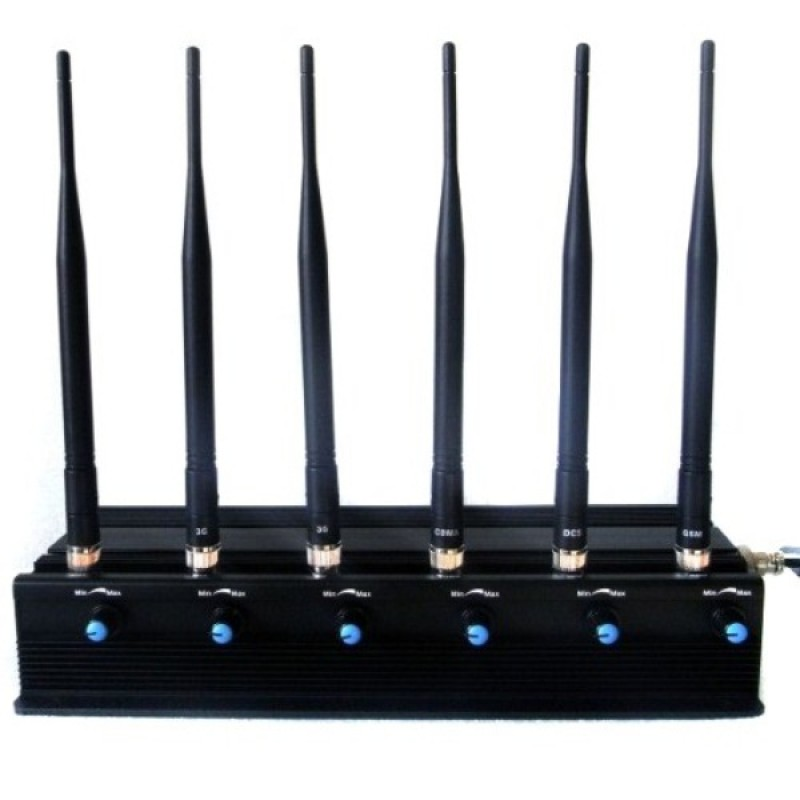 Стационарный подавитель сотовых телефонов CDMA, GSM, 3G, PCS, GPS, Wi-Fi СТРАЖ X6 ПРО