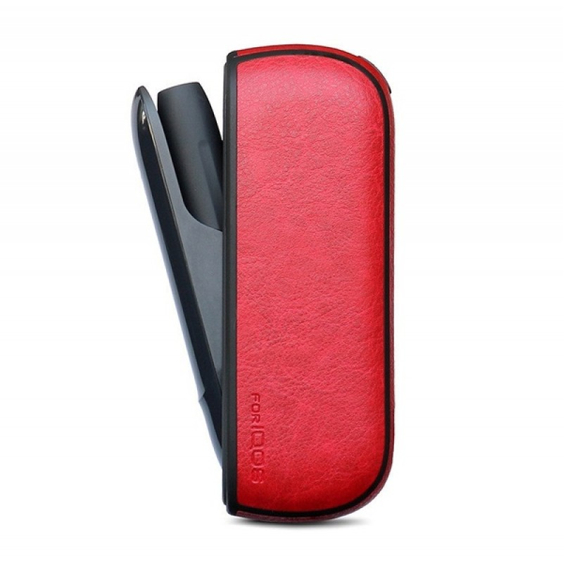 Красный чехол для IQOS 3 (эко-кожа) (NB-310-002)