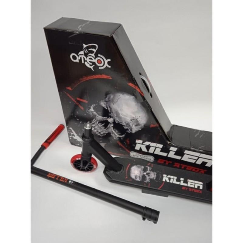 Трюковый самокат Ateox KILLER черный (фото 2)