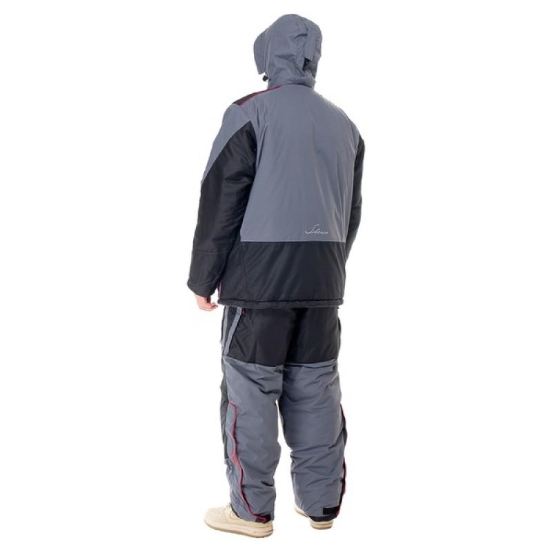 Зимний костюм для рыбалки Siberia -45°С (Серый, Breathable) Huntsman (фото 2)