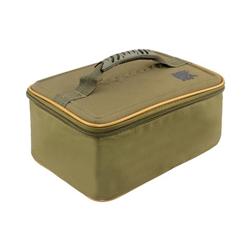 Сумка Aquatic С-39Х  для кормушек, грузов, оснасток (20х27х13 см, цвет: хаки)