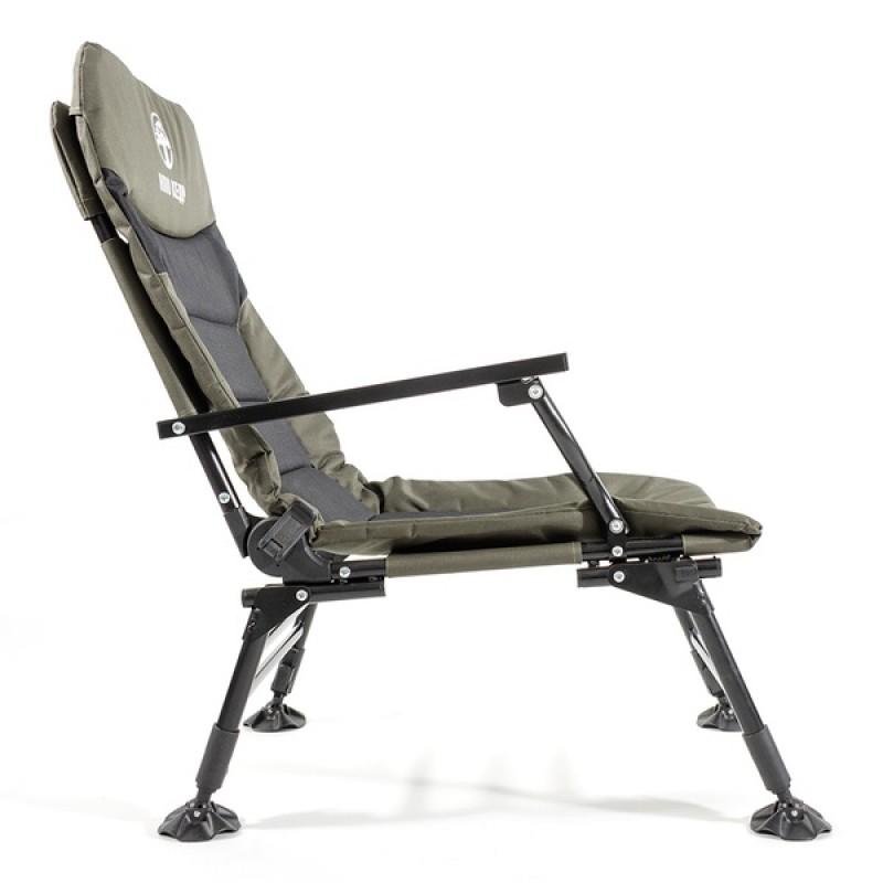 Кресло карповое КЕДР с подлокотниками SKC-01 (сталь) (фото 3)