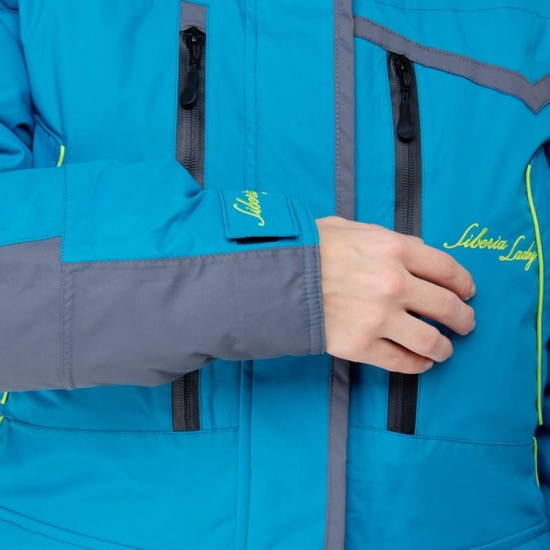 Женский костюм для рыбалки Siberia -35°С (Бирюза, Breathable) Huntsman (фото 3)