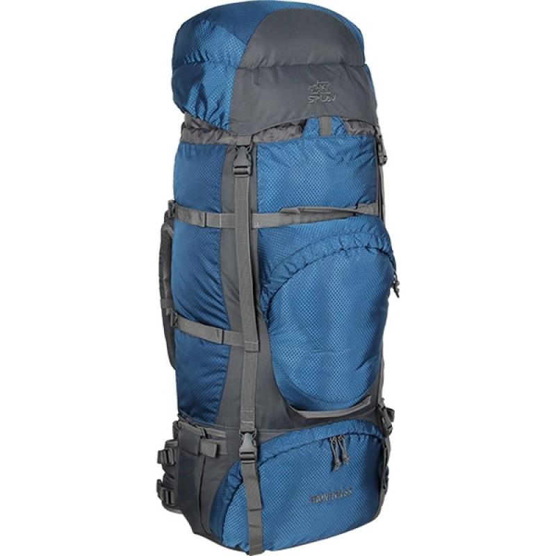 Туристический рюкзак СПЛАВ FRONTIER 85 (оранжевый) (фото 2)