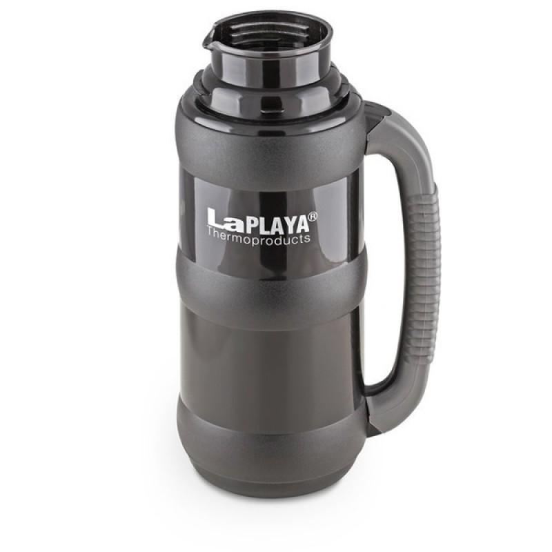 Термос LaPlaya Traditional 35-50, black (со стеклянной колбой) (фото 2)