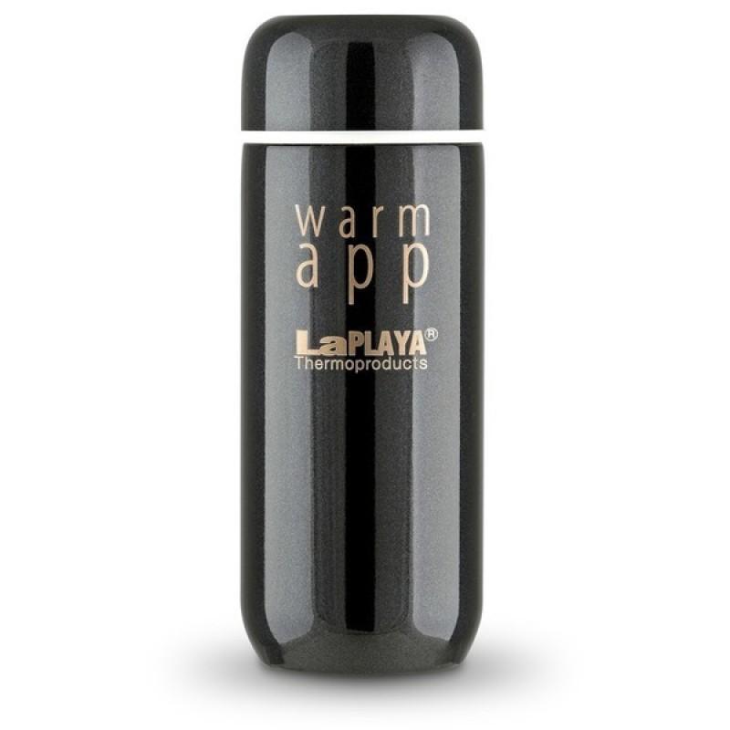 Термос LaPlaya WarmApp black 0,2L