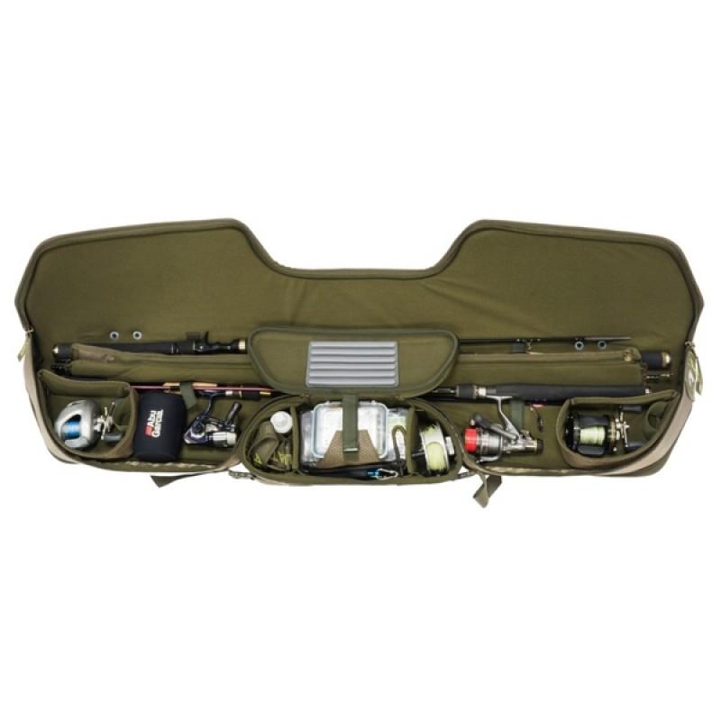 Чехол для удилищ Aquatic Ч-30К жёсткий (135 см, цвет: коричневый) (фото 3)