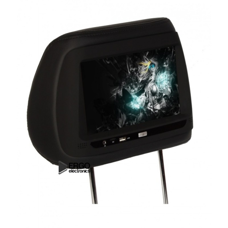 Комплект подголовников с монитором 10,1 ERGO ER10AND Черный (фото 2)