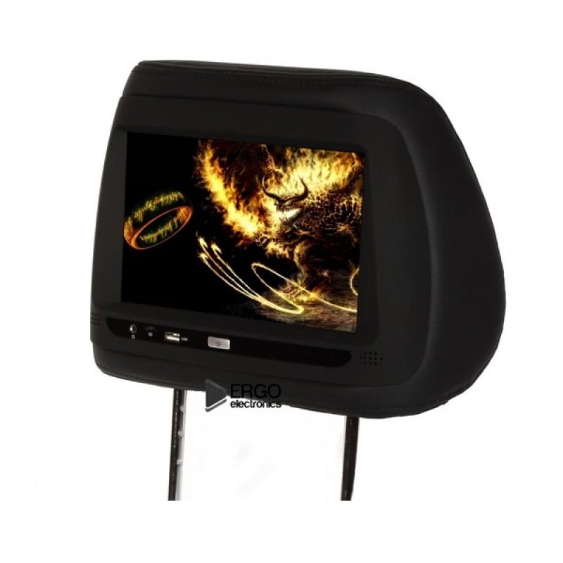 Комплект подголовников с монитором 10,1 ERGO ER10AND Черный (фото 3)