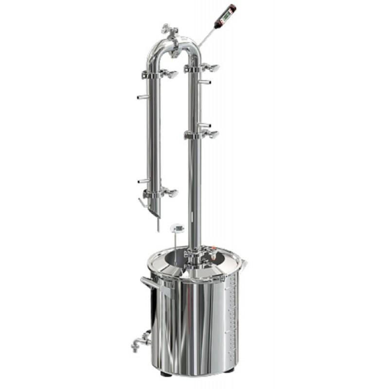 Самогонный аппарат (дистиллятор) Добрый жар Абсолют 20 литров + кран (фото 2)