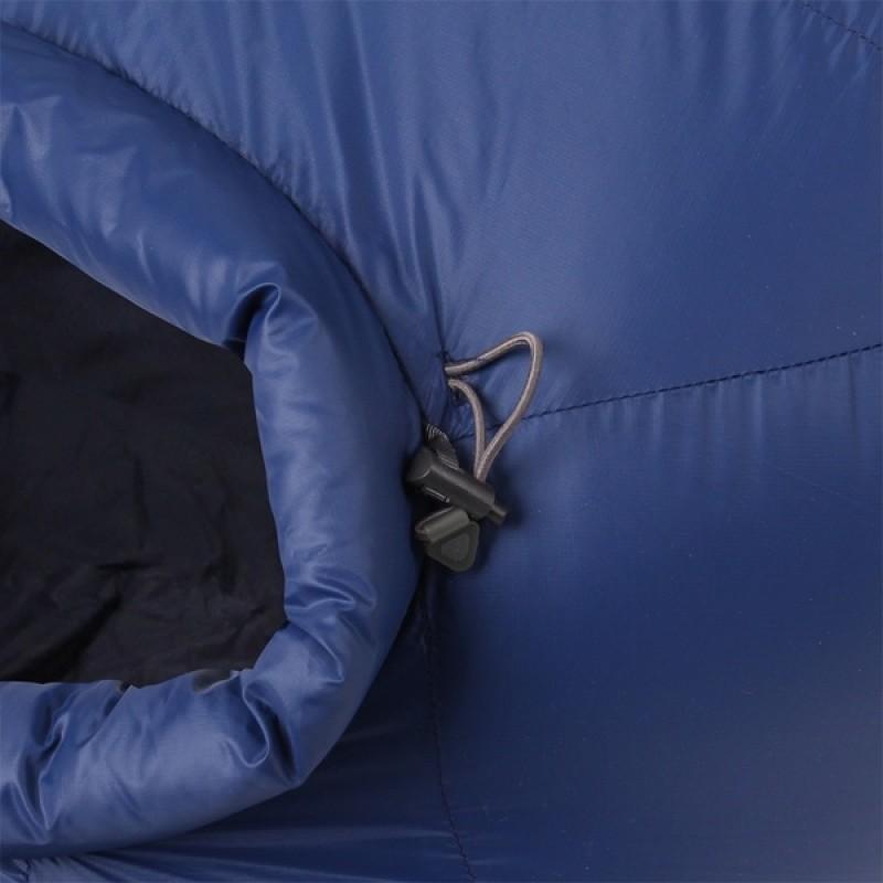 Спальный мешок СПЛАВ Adventure Extreme (синий, пуховый) (фото 3)