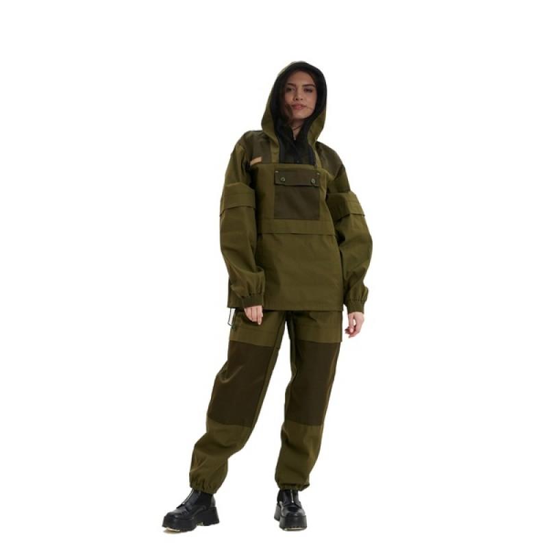 Женский противоэнцефалитный костюм KATRAN Протект (Палатка, хаки) (фото 2)