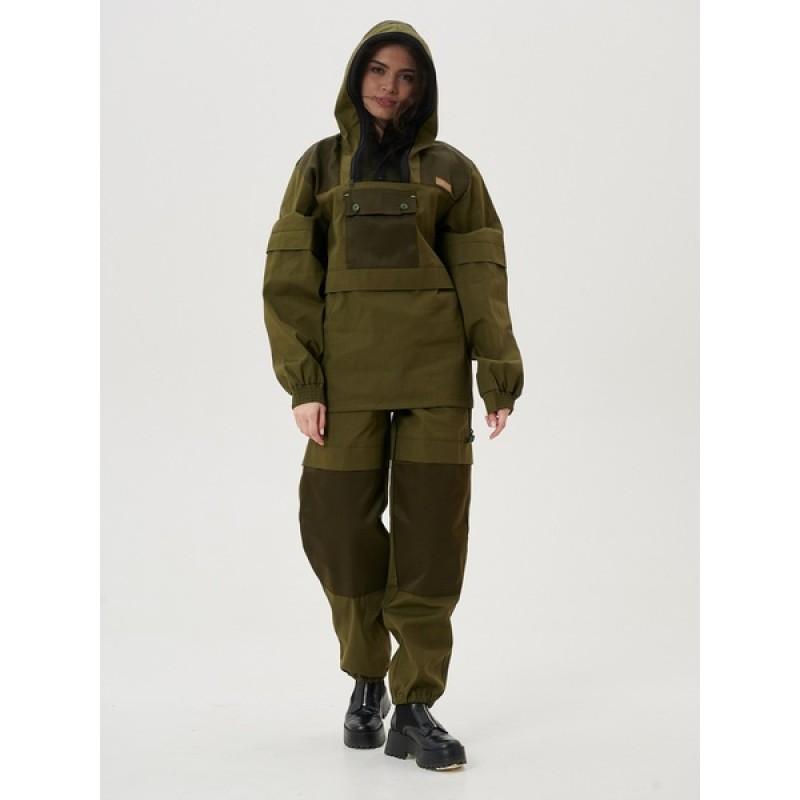 Женский противоэнцефалитный костюм KATRAN Протект (Палатка, хаки) (фото 3)