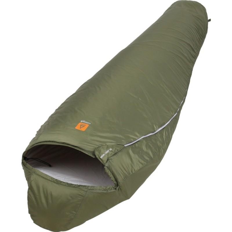 Спальный мешок СПЛАВ Mega Light 50 (зеленый, правый) 240 см (фото 2)