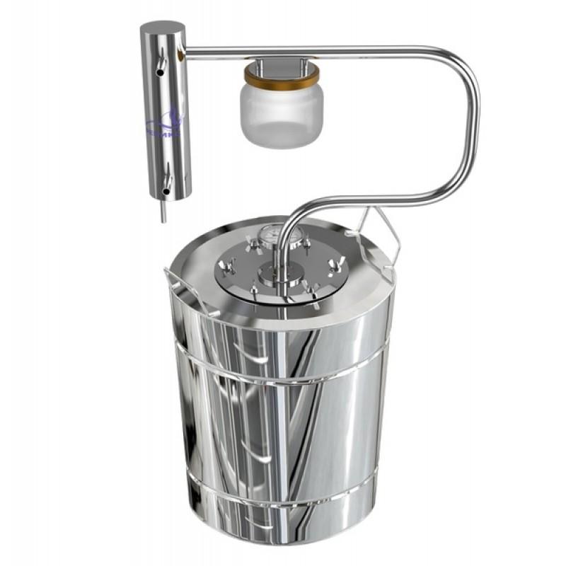 Самогонный аппарат (дистиллятор) ФЕНИКС Шахтер (С теном) 20 литров (фото 2)