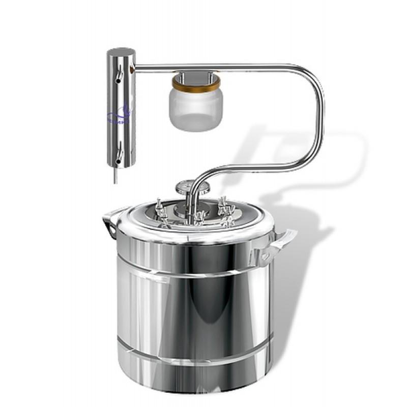 Самогонный аппарат (дистиллятор) ФЕНИКС Шахтер (С теном) 20 литров (фото 3)
