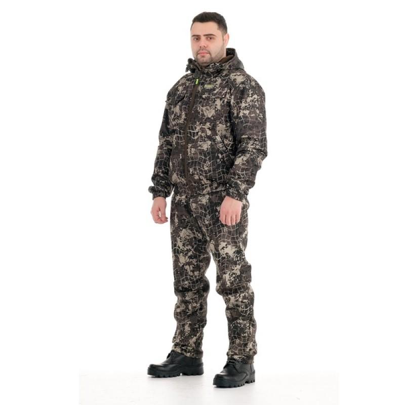 Демисезонный костюм Барс 0°C (полофлис, сеть) КВЕСТ (подкладка флис)