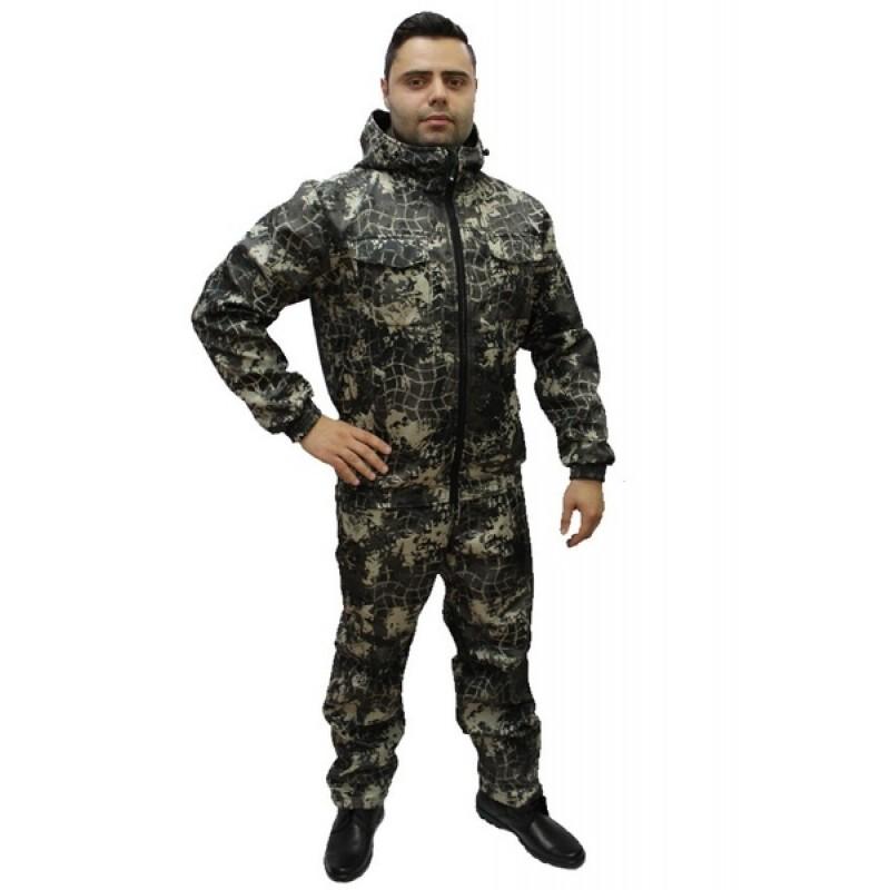Демисезонный костюм Барс 0°C (полофлис, сеть) КВЕСТ (подкладка флис) (фото 2)