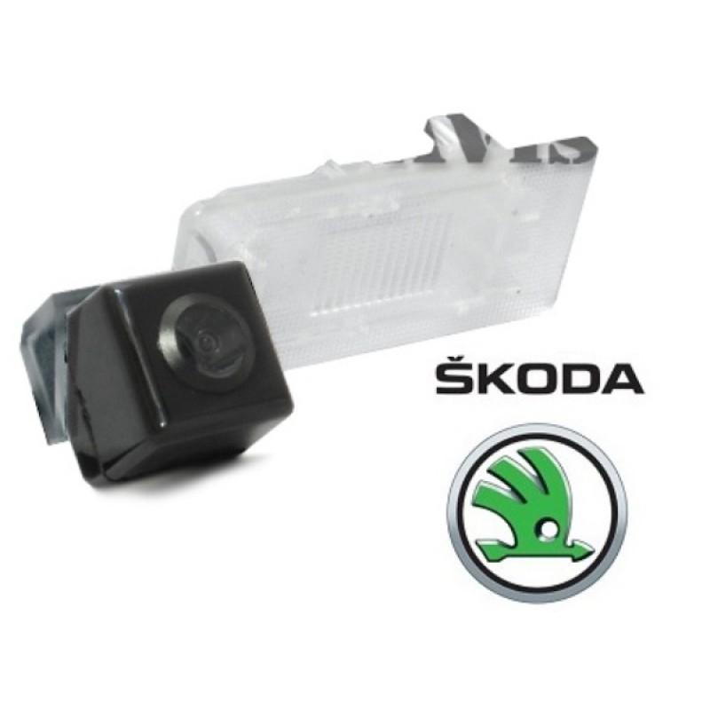 CMOS камера заднего вида для SKODA SUPERB II (2013 - ...) (#102)