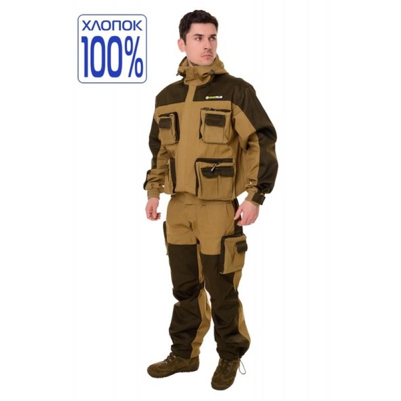 Летний костюм для охоты и рыбалки ONERUS Спецназ (Палатка, хаки)