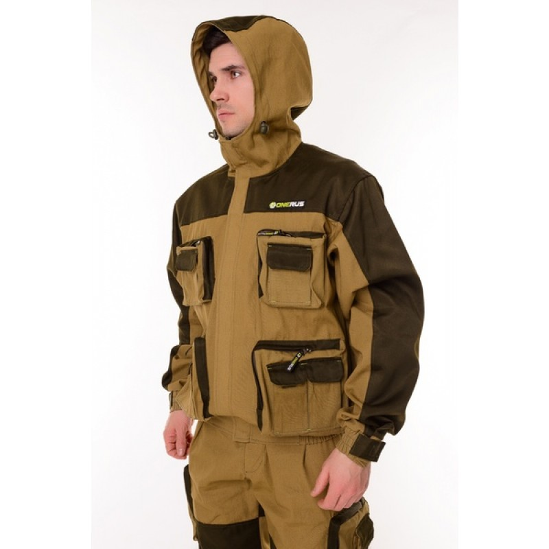 Летний костюм для охоты и рыбалки ONERUS Спецназ (Палатка, хаки) (фото 3)